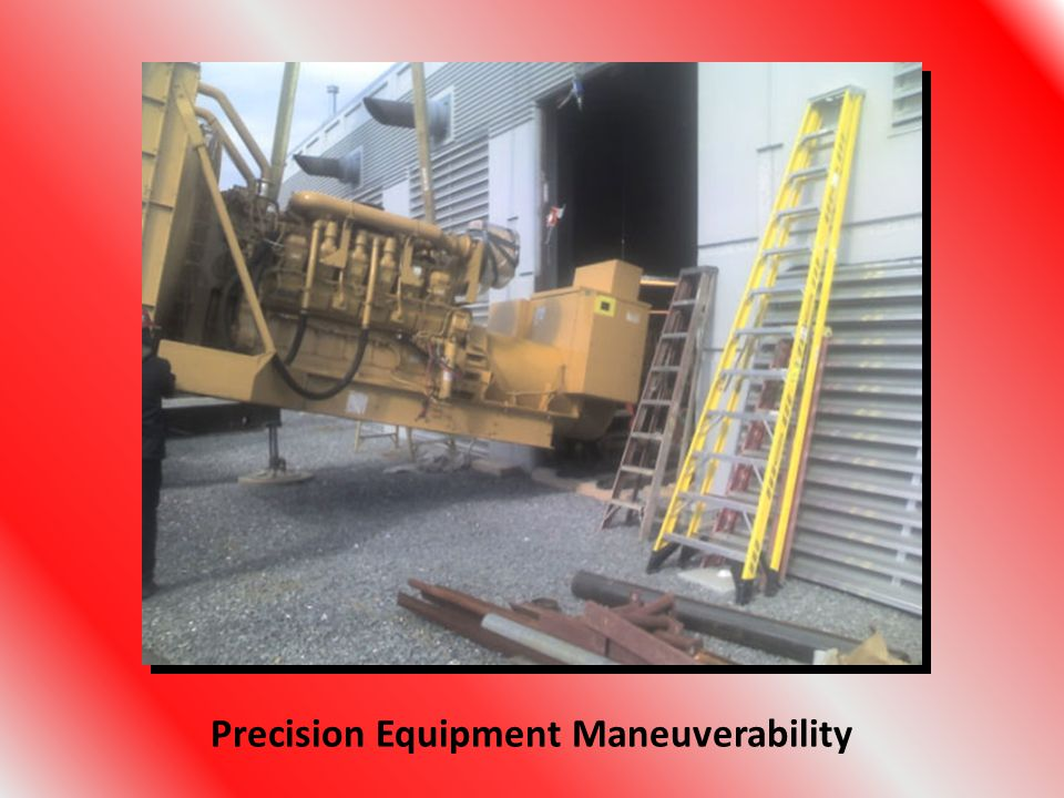 Precision Equipment Maneuverability