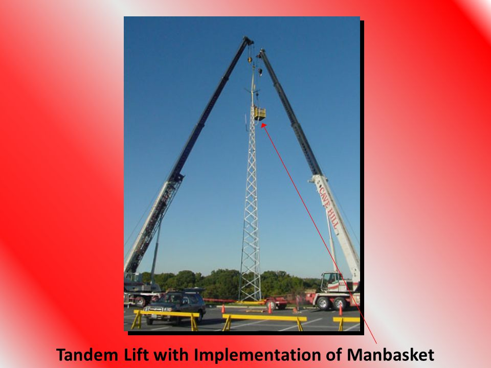 Tandem Lift with Implementation of Manbasket