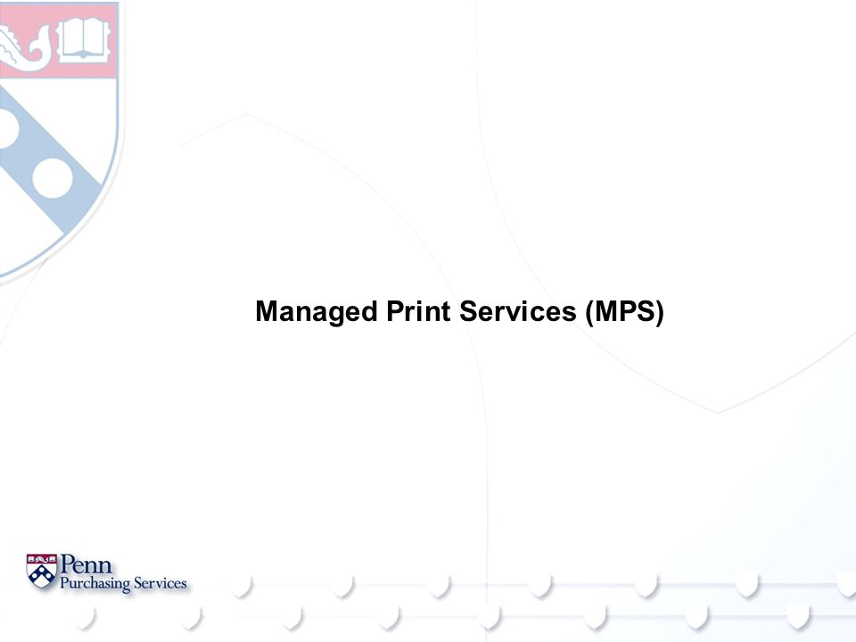 Managed Print Services (MPS)