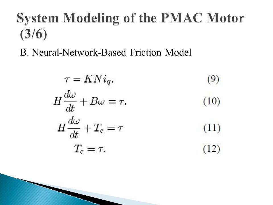 B. Neural-Network-Based Friction Model