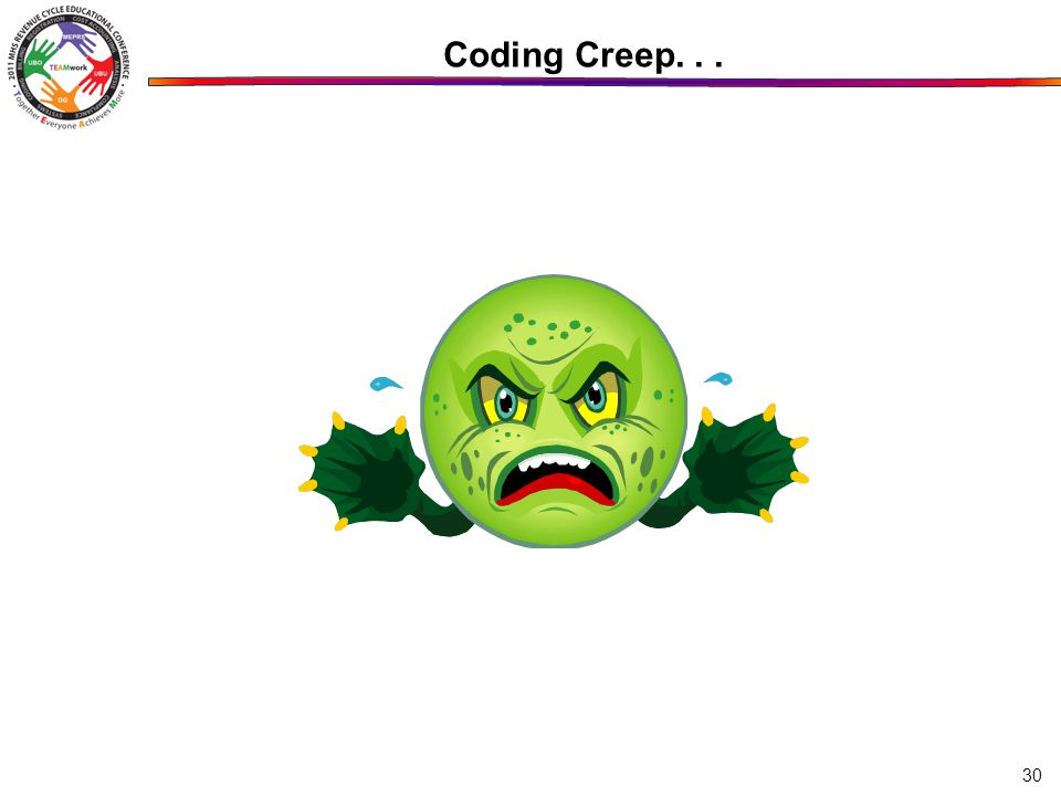 30 Coding Creep...