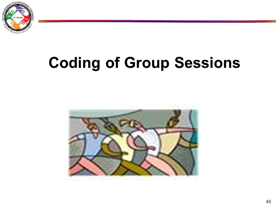 Coding of Group Sessions 46