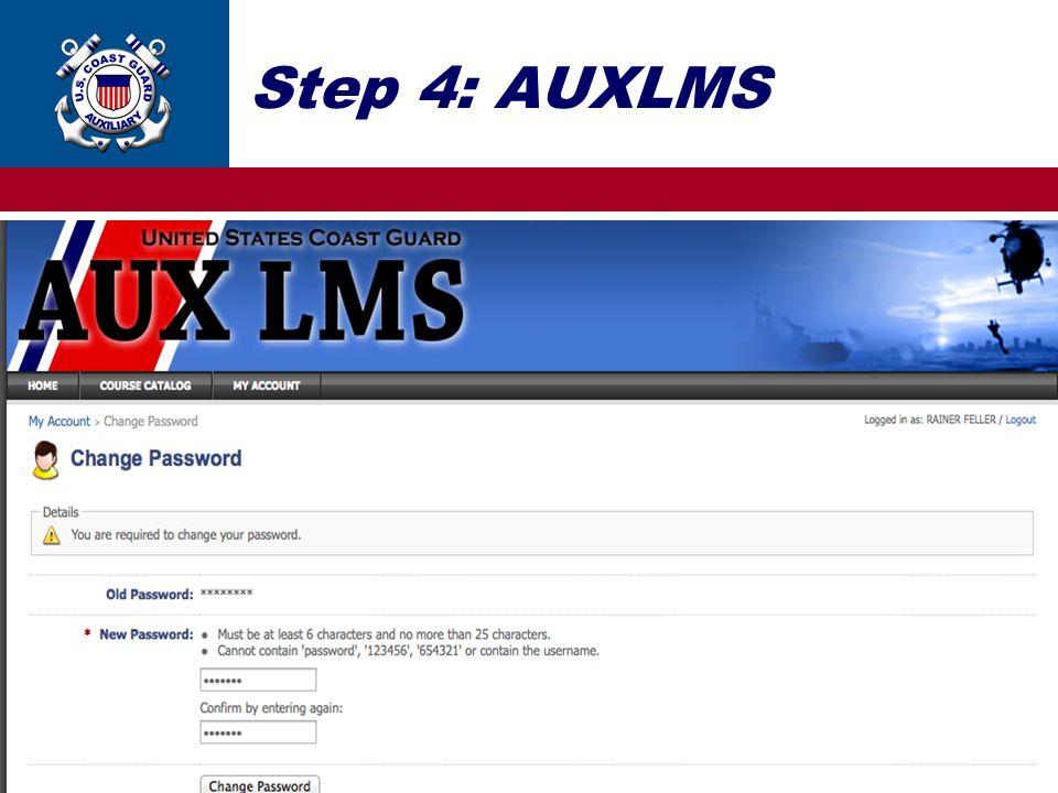 Step 4: AUXLMS 14