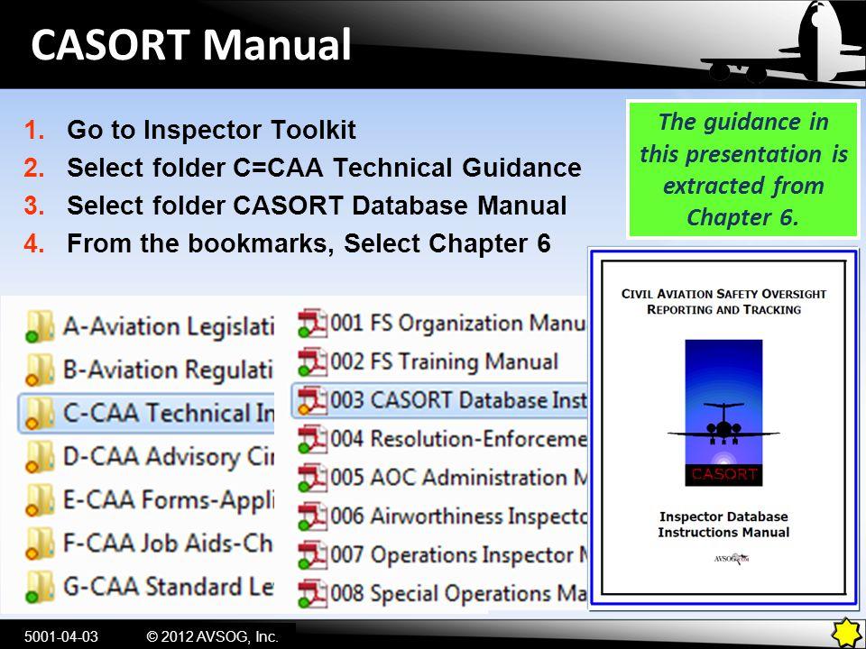 Type of Organization 5001-04-14© 2012 AVSOG, Inc.