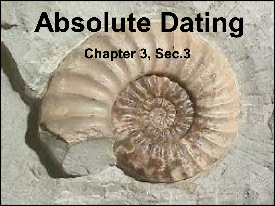 Process to find the approximate age of rocks or fossils