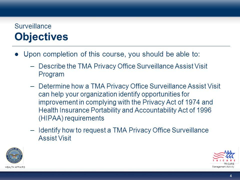 TRICARE Management Activity HEALTH AFFAIRS 15 Surveillance Summary - Who Benefits?