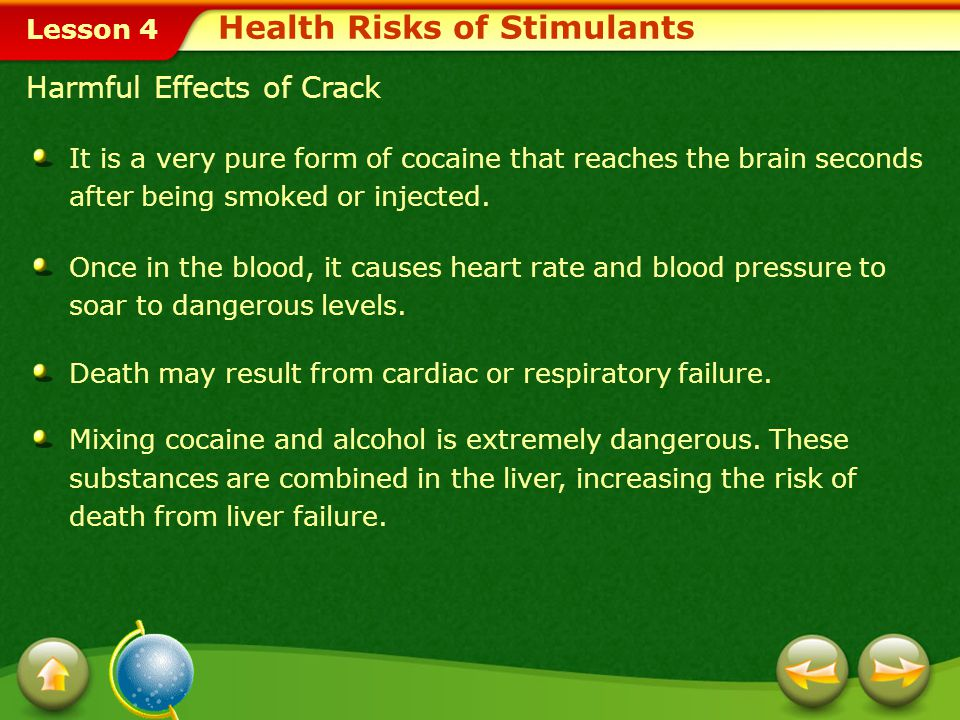 Lesson 4 Crack An even more dangerous form of cocaine is crack. Also known as crack cocaine, rock, or freebase rock, crack is one of the most deadly d