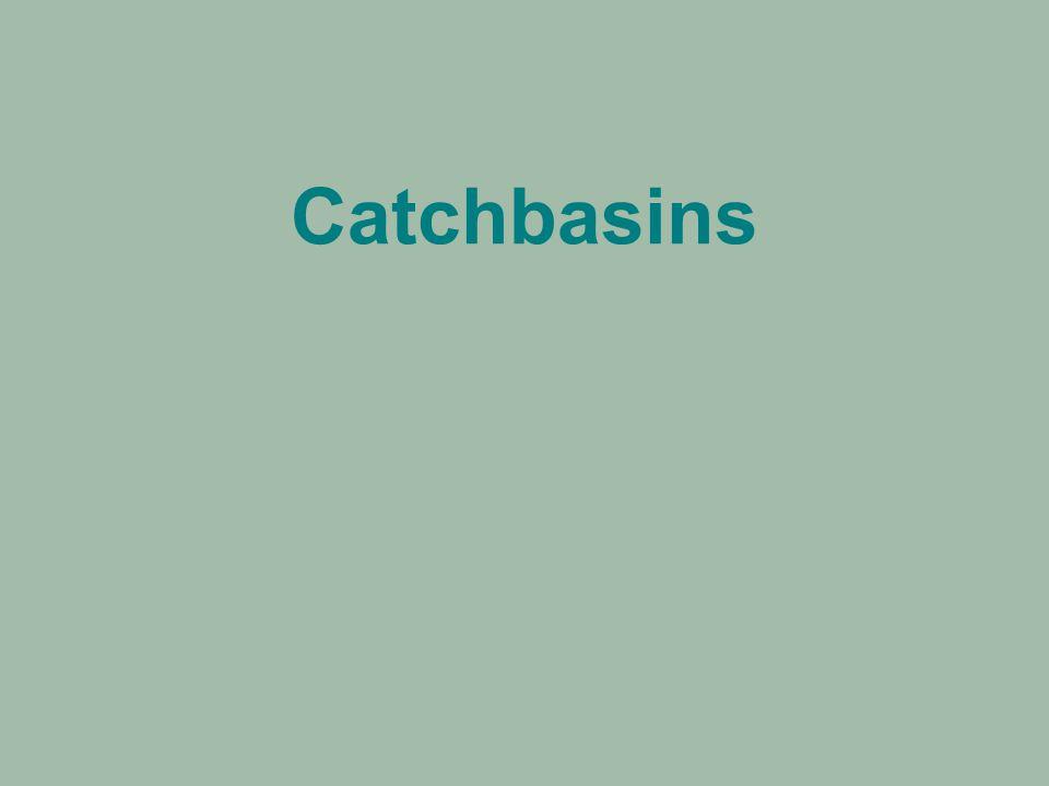 Catchbasins