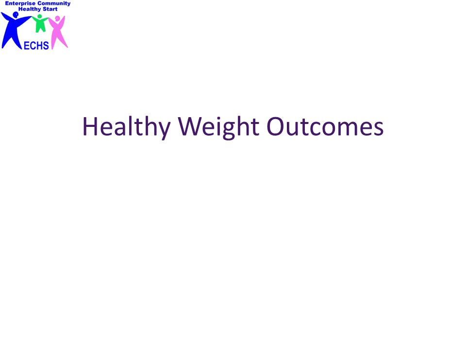 Healthy Weight Outcomes