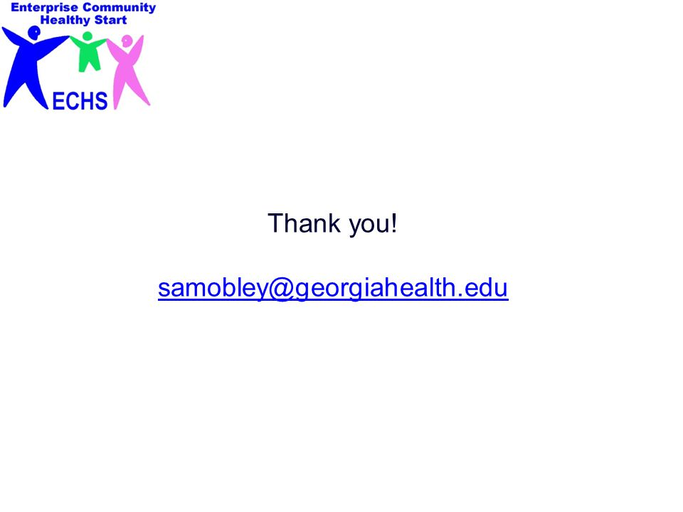 Thank you! samobley@georgiahealth.edu