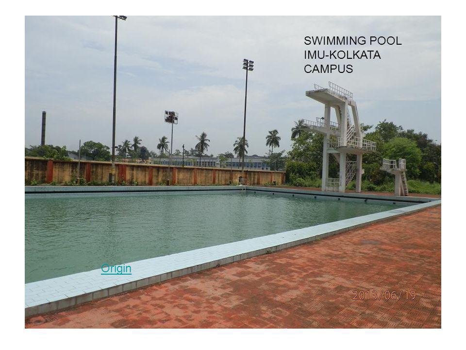 SWIMMING POOL IMU-KOLKATA CAMPUS Origin
