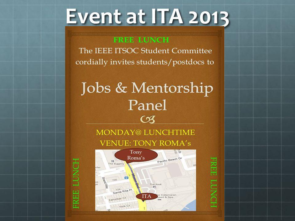 Event at ITA 2013