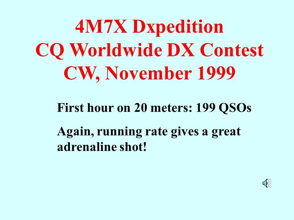 Coche Island 4M7X 1999 4M7X Dxpedition to Coche Island, Venezuela Margarita Island