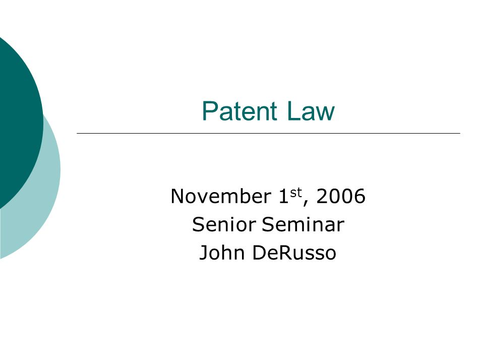 Undergraduate  There is no specific curriculum required to apply to law school Common majors include English, History, and Philosophy  However, in order to become a patent attorney, there is a separate bar exam given by the USPTO Requires a technical major or course load