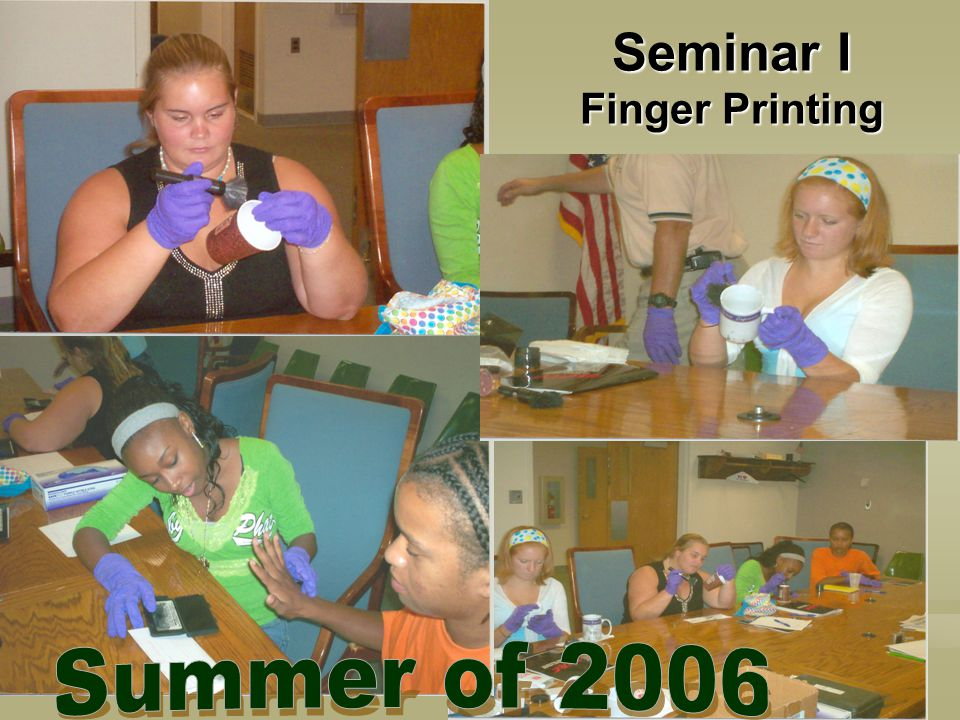 Seminar I Finger Printing
