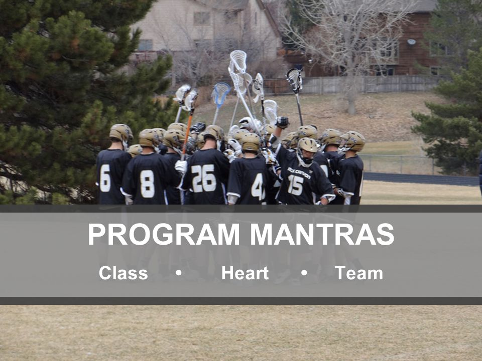 66 PROGRAM MANTRAS Class  Heart  Team