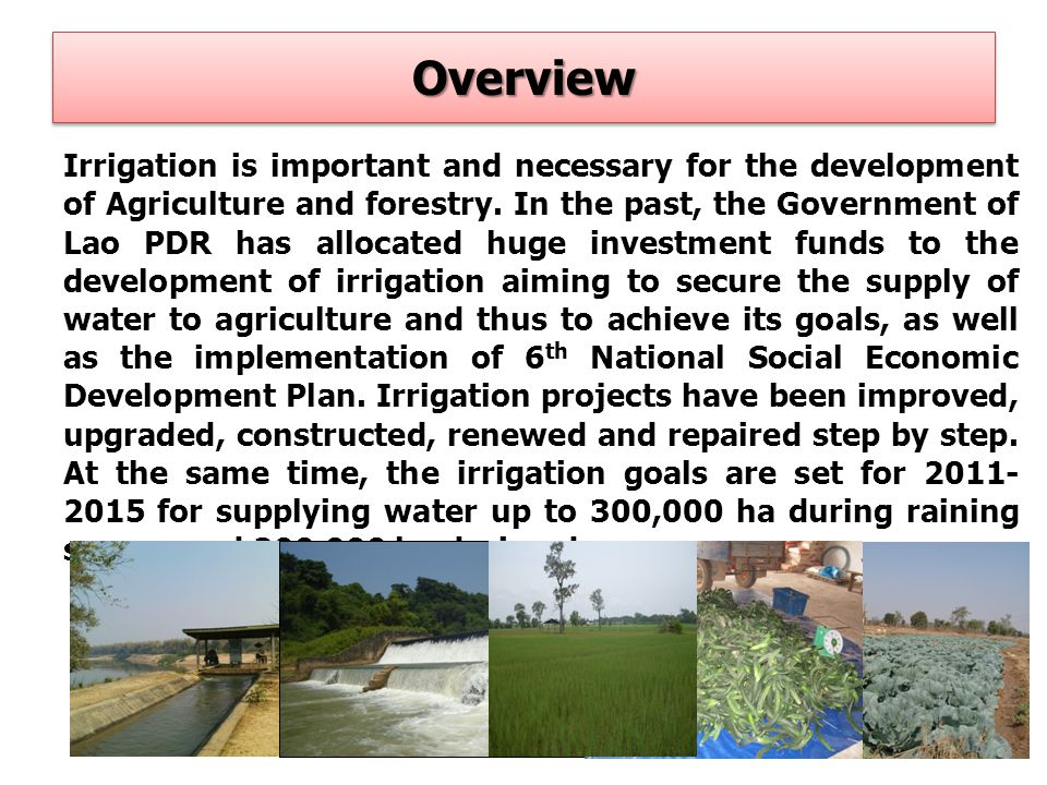 Integration of natural disaster management, prevention and control plan into agricultural sector development plan in each level in each period; Information survey to develop plan for defining risky areas for natural disaster; Improve and renewing water gates and river protection cannels Inspect and repair all eroded cannels of water pump station along Mekong river and its branches Areas with erosion risk and other to use modern technology in defining and evaluating the condition Using infrastructure with care and control and setting water level in catchment appropriately and safety before high water season Integration of natural disaster management, prevention and control plan into agricultural sector development plan in each level in each period; Information survey to develop plan for defining risky areas for natural disaster; Improve and renewing water gates and river protection cannels Inspect and repair all eroded cannels of water pump station along Mekong river and its branches Areas with erosion risk and other to use modern technology in defining and evaluating the condition Using infrastructure with care and control and setting water level in catchment appropriately and safety before high water season Disaster Risk prevention and management Irrigation strategy (4) 15