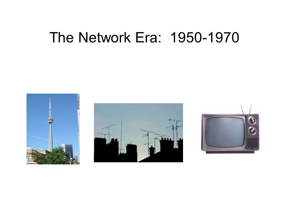 The Network Era: 1950-1970