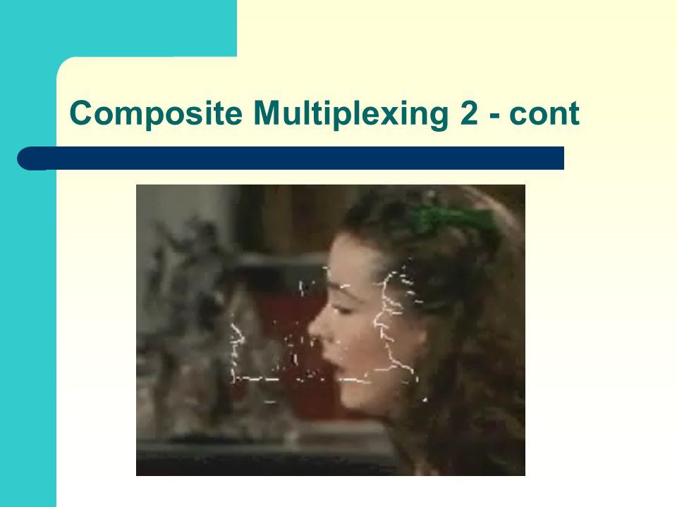 Composite Multiplexing 2 - cont