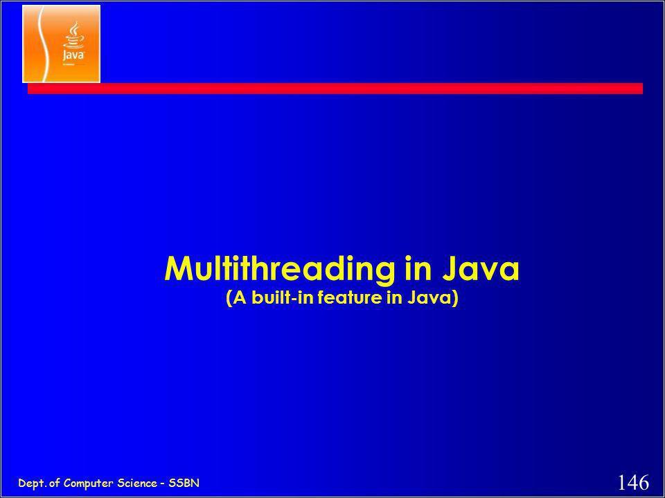 145 Dept. of Computer Science - SSBN Applet that plays sound import java.applet.*; import java.awt.*; public class MyAppletSound extends Applet { Audi