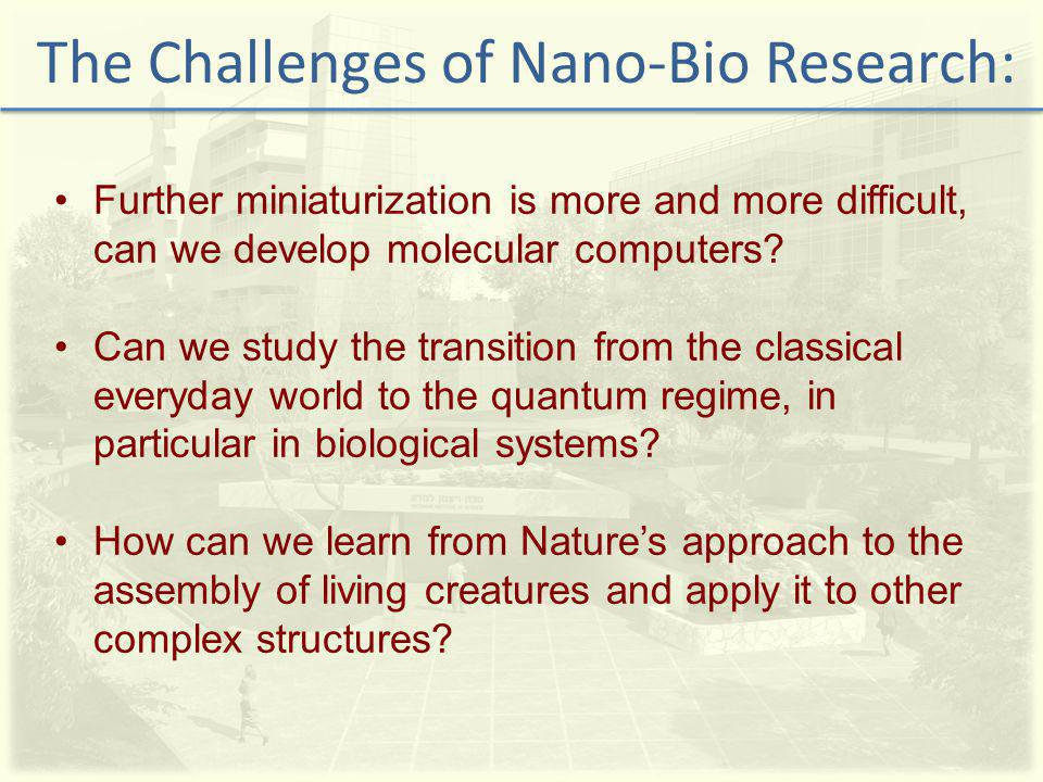Further miniaturization is more and more difficult, can we develop molecular computers.