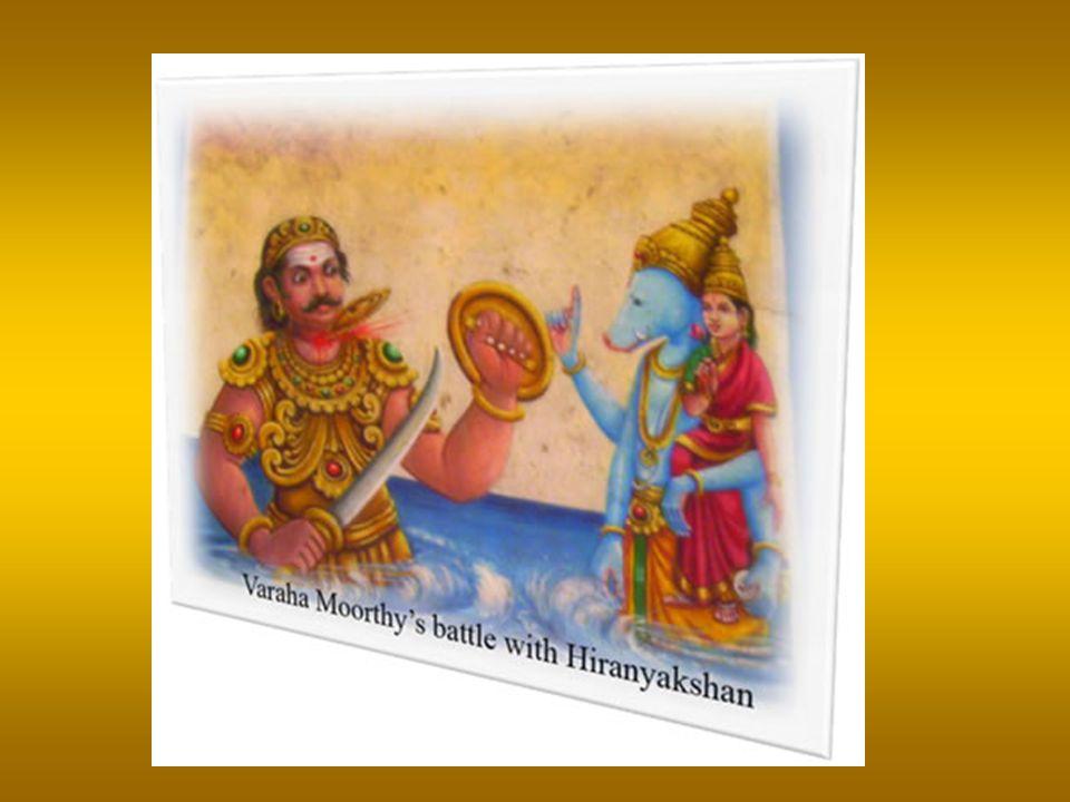 Varaha Avathara Narasimha Avathara