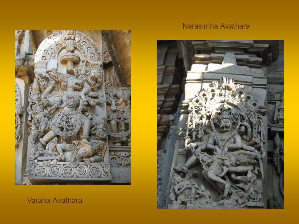 In first Janma the dvarapAlakAs, were born as Hiranyakshan and Hiranyakashipu, in the next Janma they lived as Ravana and Kumbhakarna, and in the last