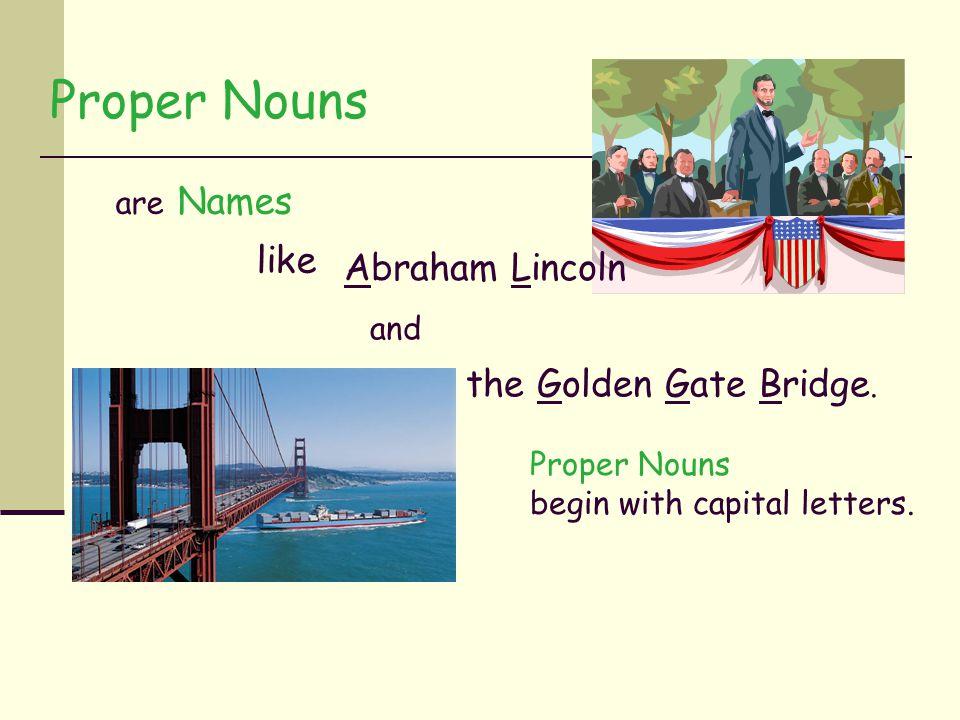 Nouns Proper Nouns Akiko MFWI Mt. Fujii Spokane PronounsCountable NounsUncountable Nouns Types of nouns