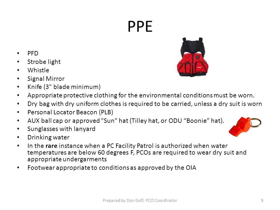 PPE PFD Strobe light Whistle Signal Mirror Knife (3