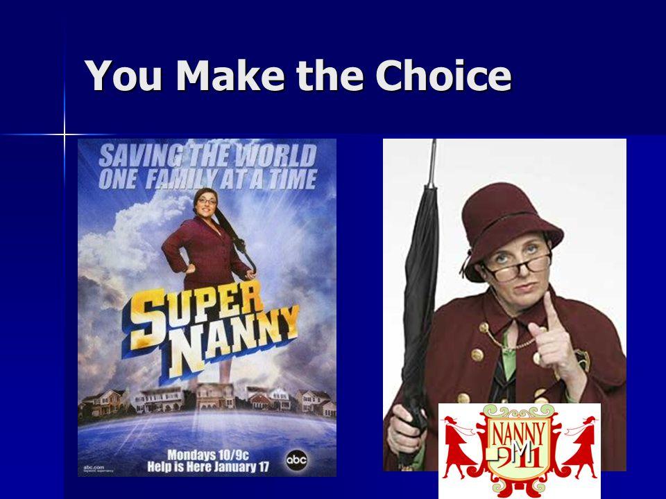 6 You Make the Choice M