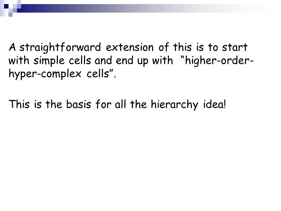 Test stage: The best reaction of the cell was to the trained data.