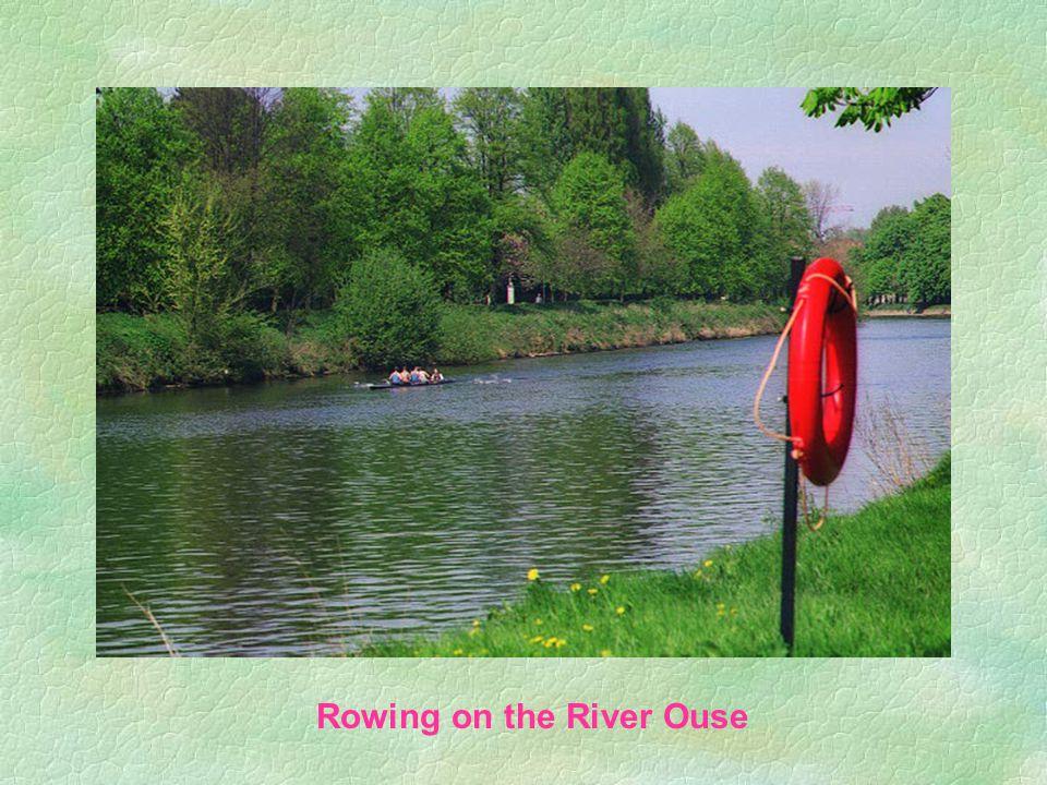 Utsikt over River Ouse, fra Lovelane