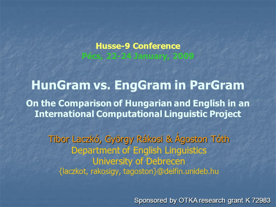 Hungram1.lfg FIRST HUNGARIAN CONFIG (1.0) ROOTCAT ROOT.