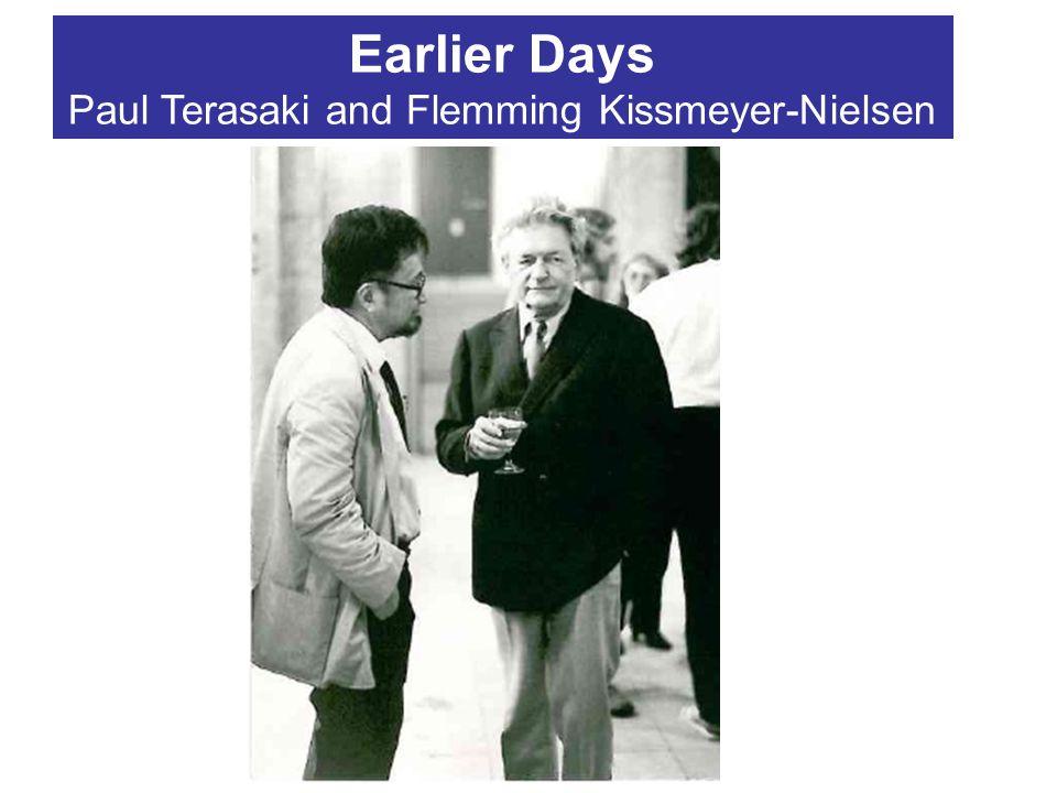 Earlier Days Paul Terasaki and Flemming Kissmeyer-Nielsen