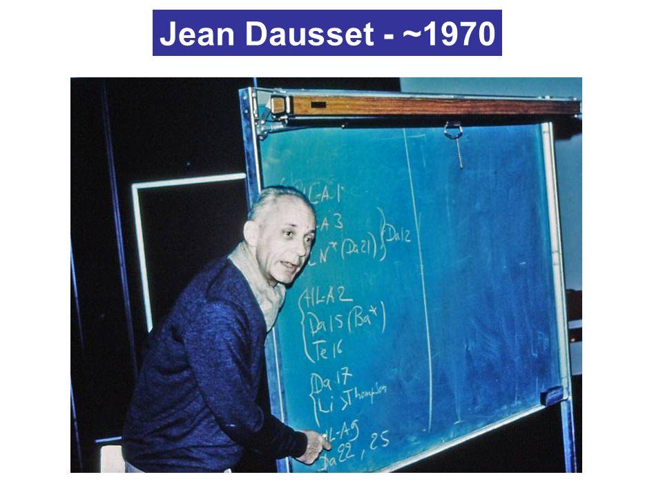 Jean Dausset - ~1970