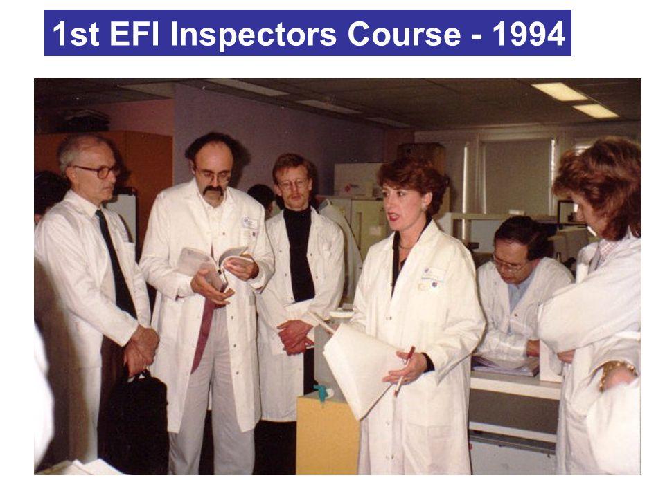 1st EFI Inspectors Course - 1994