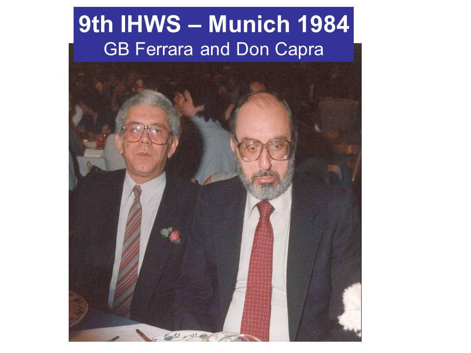 GB Ferrara and Don Capra