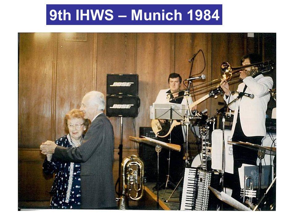 9th IHWS – Munich 1984