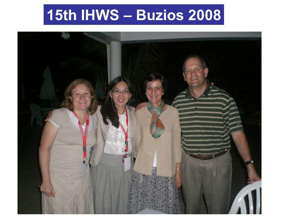 15th IHWS – Buzios 2008