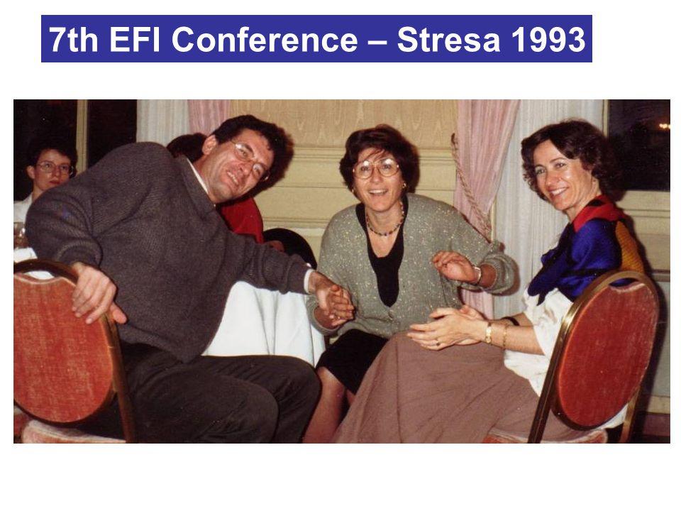 7th EFI Conference – Stresa 1993