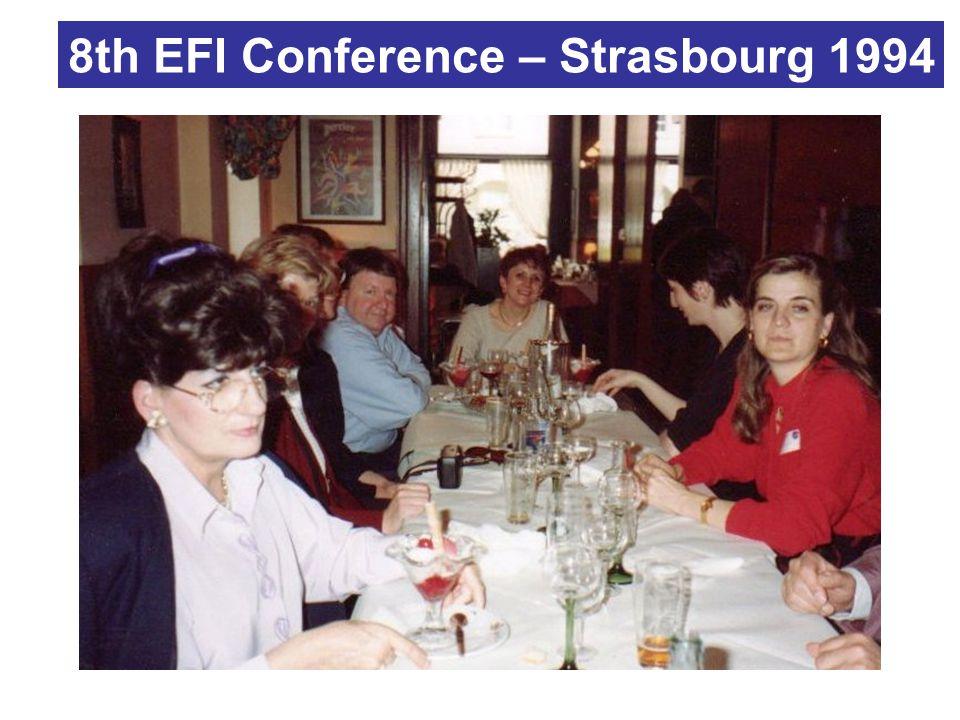 8th EFI Conference – Strasbourg 1994