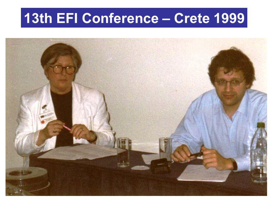13th EFI Conference – Crete 1999