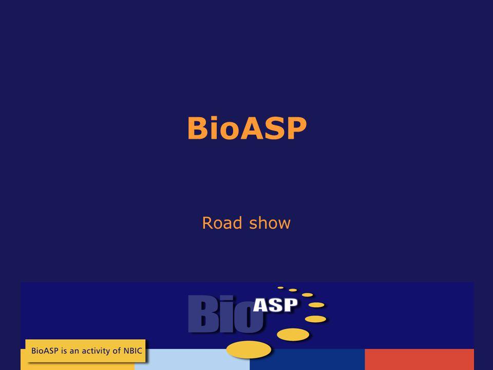 BioASP Road show