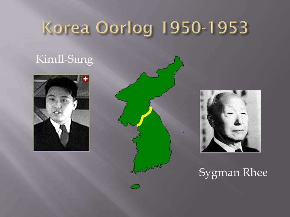KimIl-Sung Sygman Rhee