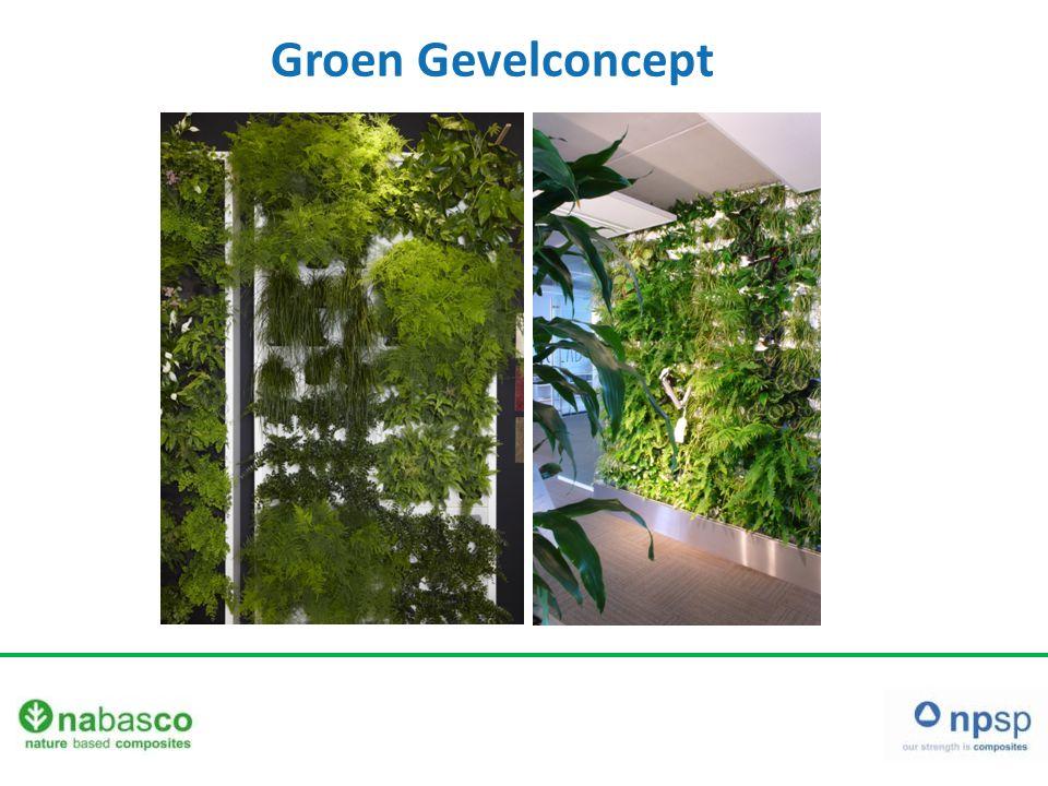 Groen Gevelconcept