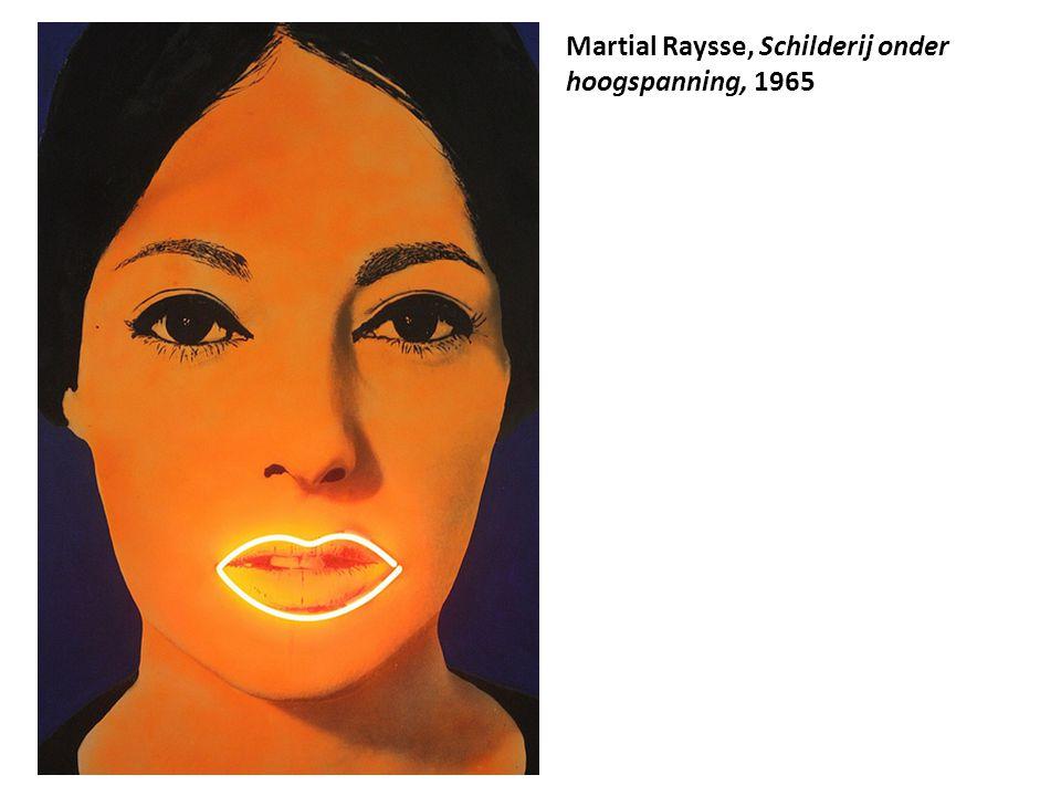 Martial Raysse, Schilderij onder hoogspanning, 1965