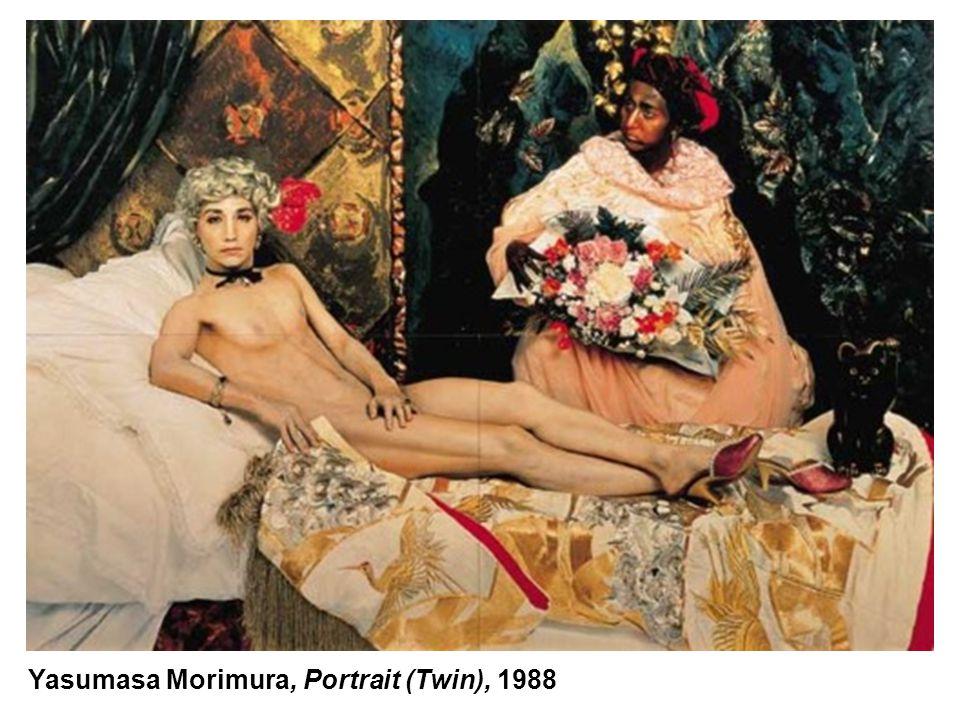 Yasumasa Morimura, Portrait (Twin), 1988