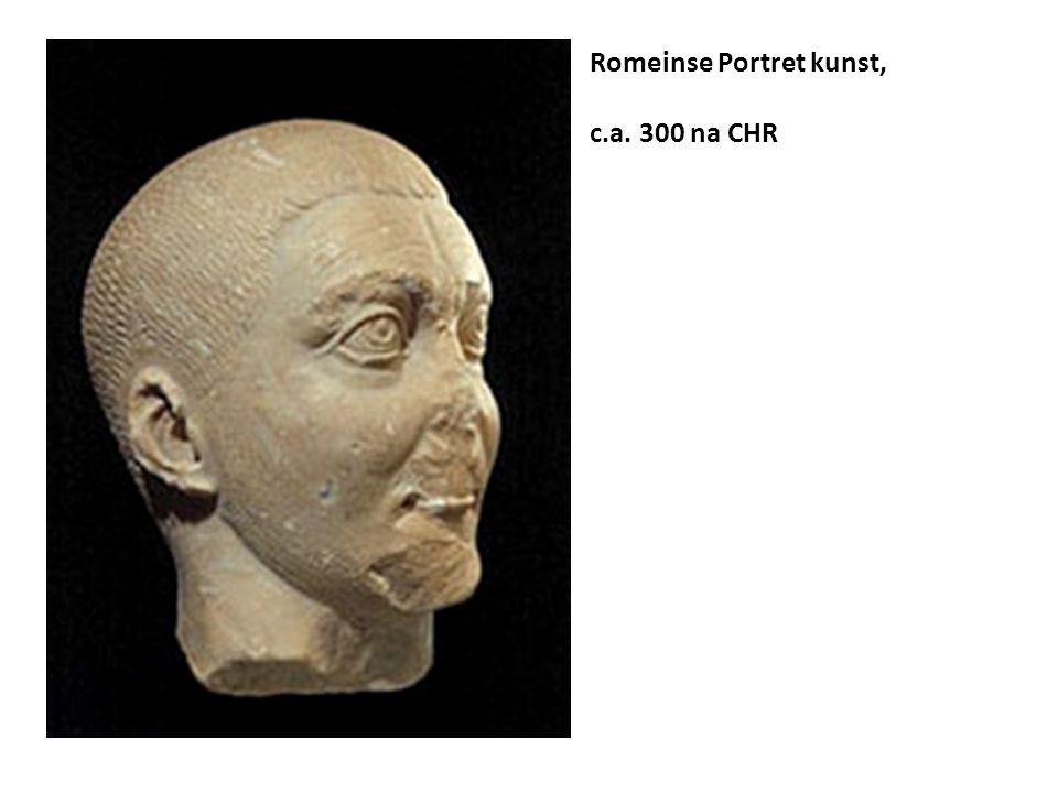 Romeinse Portret kunst, c.a. 300 na CHR