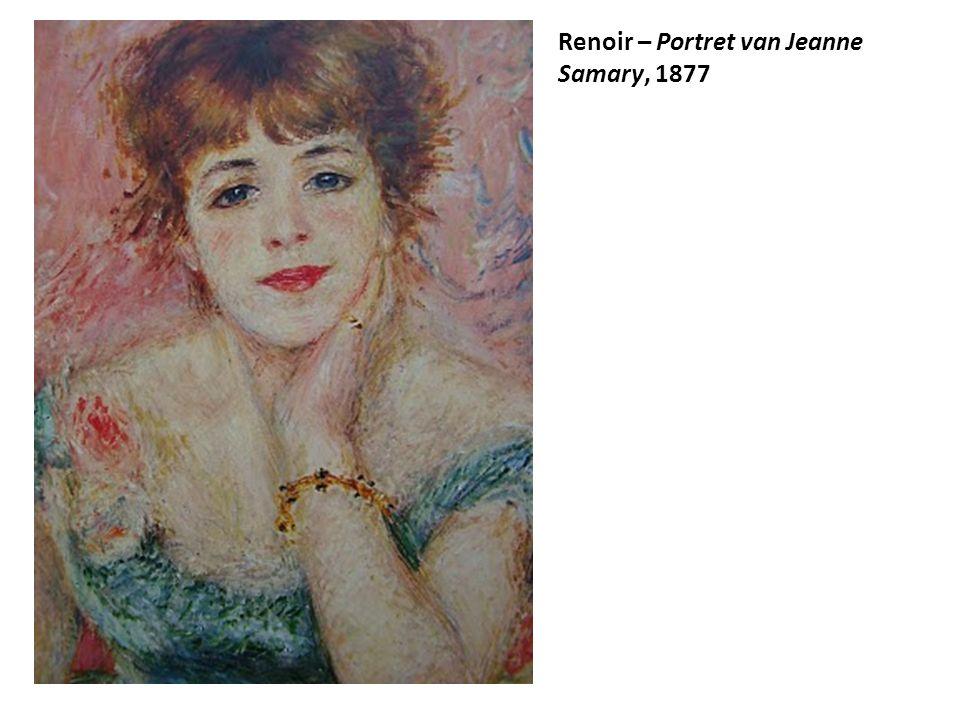 Renoir – Portret van Jeanne Samary, 1877