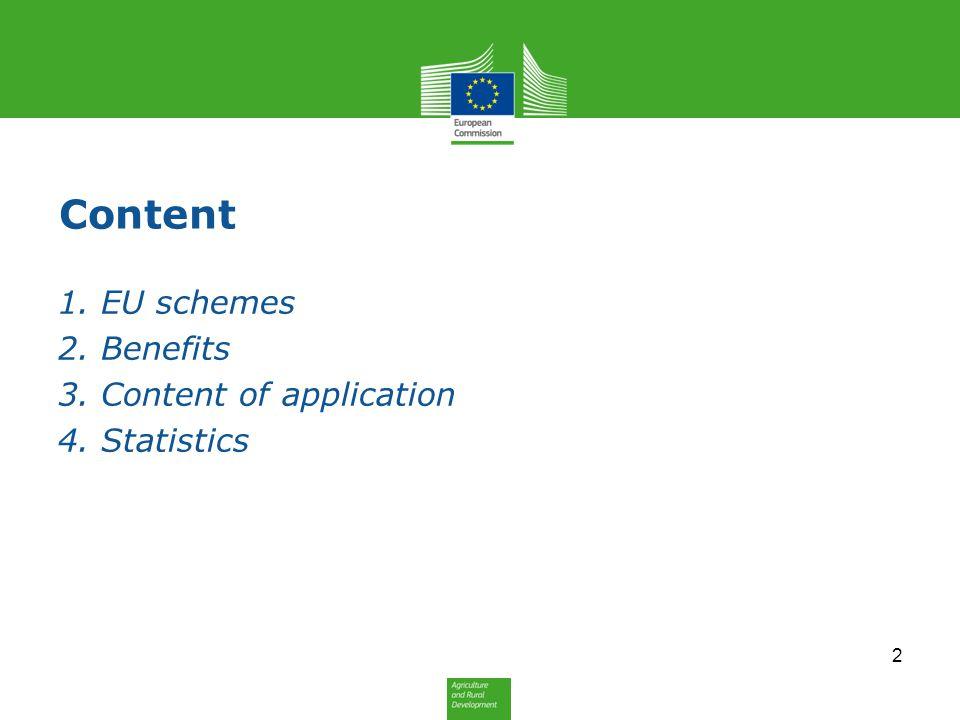 1. EU schemes 3